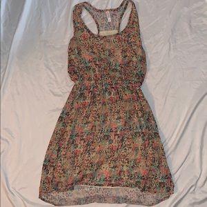 Multicolor cheetah print dress